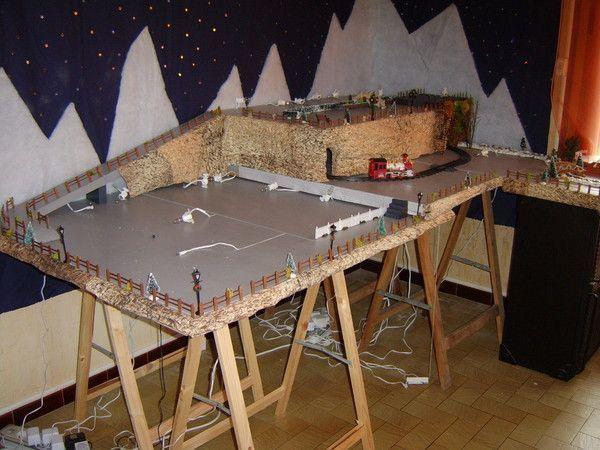 Mon village de noel 2009 page 4 - Fabriquer un village de noel en carton ...